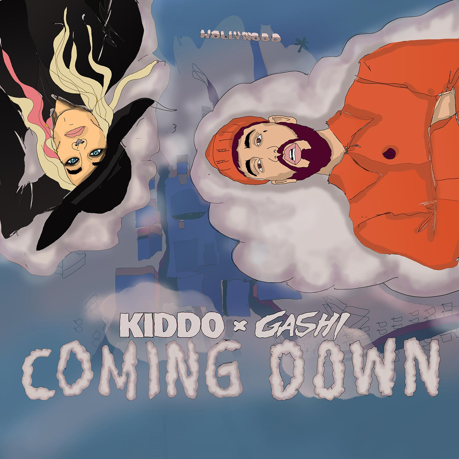 KIDDO Coming Down Cover